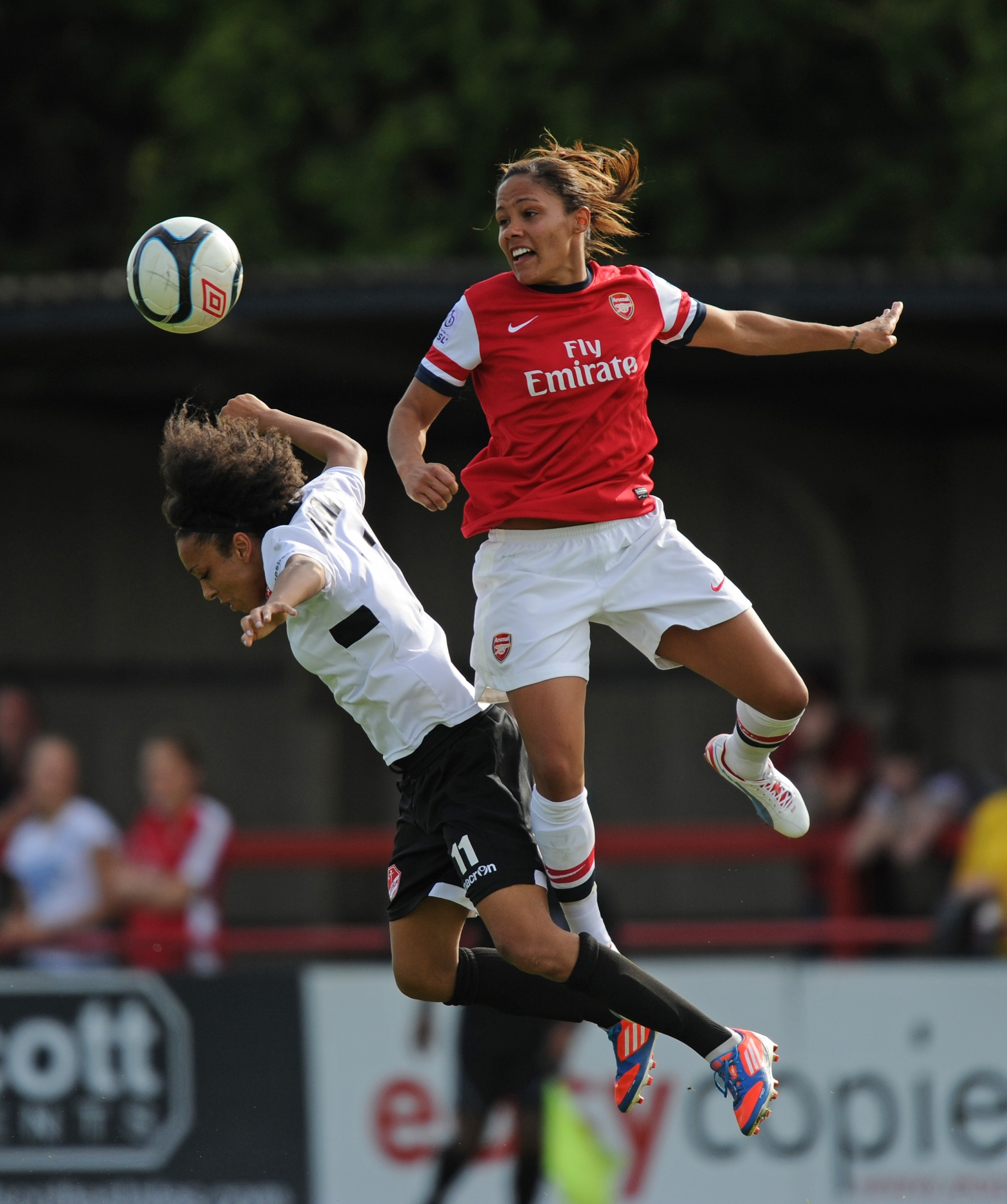 Arsenal Ladies have been knocked out of the Champions League