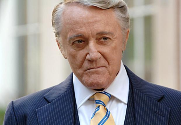Robert Vaughn: one of the Men from U.N.C.L.E