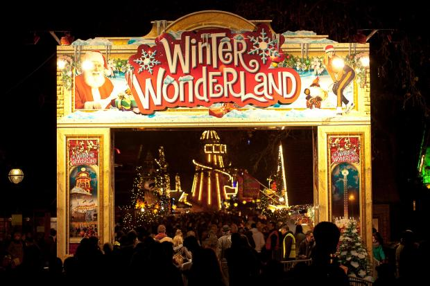 Borehamwood Times: The Winter Wonderland at Hyde Park