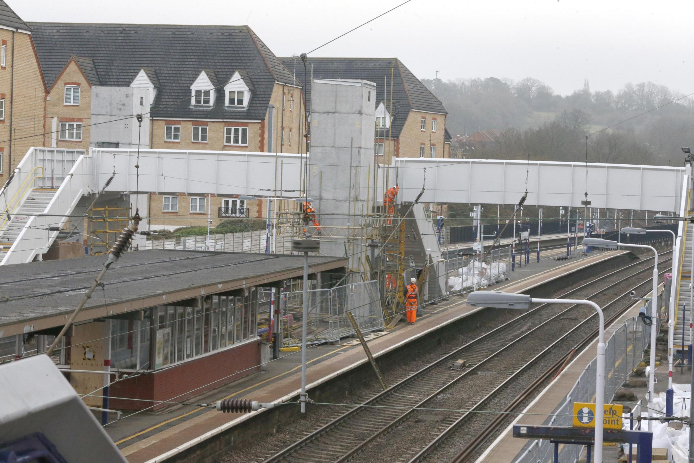 'It is a scandal how long the delays have been' - work at railway station still not finished a year later