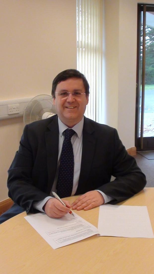 Borehamwood Times: Dr Nicholas Small pledges his commitment to carers