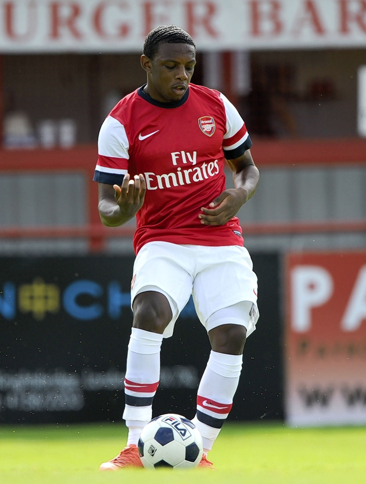 Arsenal Under-21s lost to Reading at Meadow Park: Action Images