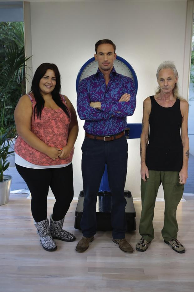 Borehamwood Times: Mick Wickes with Charlene Shattock and Dr Christian Jessen
