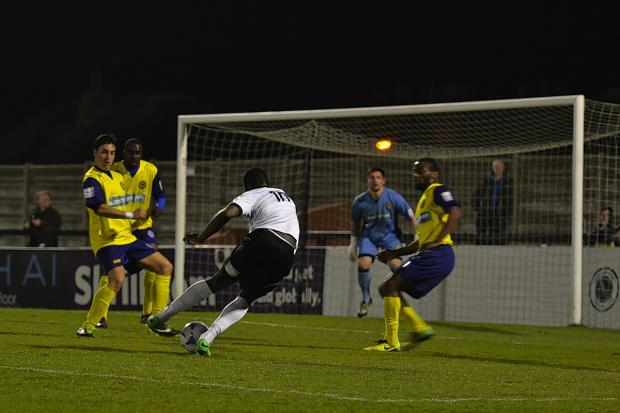 Borehamwood Times: Boreham Wood were held to a draw with Farnborough: Sean Hinks