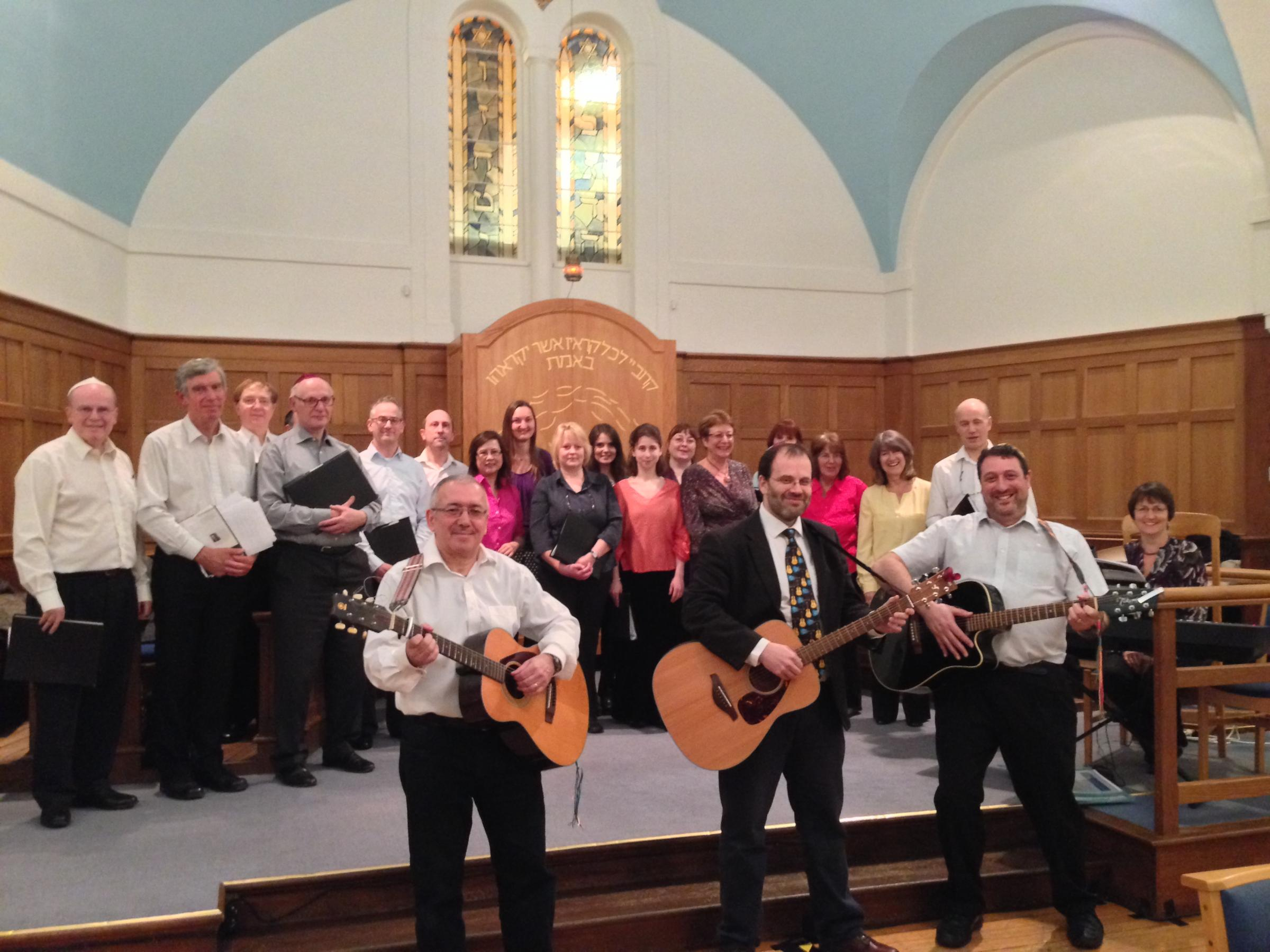 Combined choir helps cement relations between Jewish and Christian singers