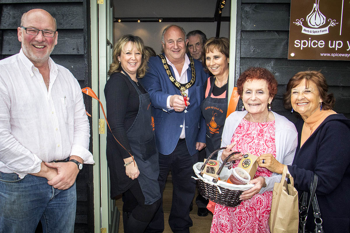 Their first shop on Battlers Green Farm, in Common Lane, Radlett, has now been opened in a ceremony attended by the Mayor Paul Morris