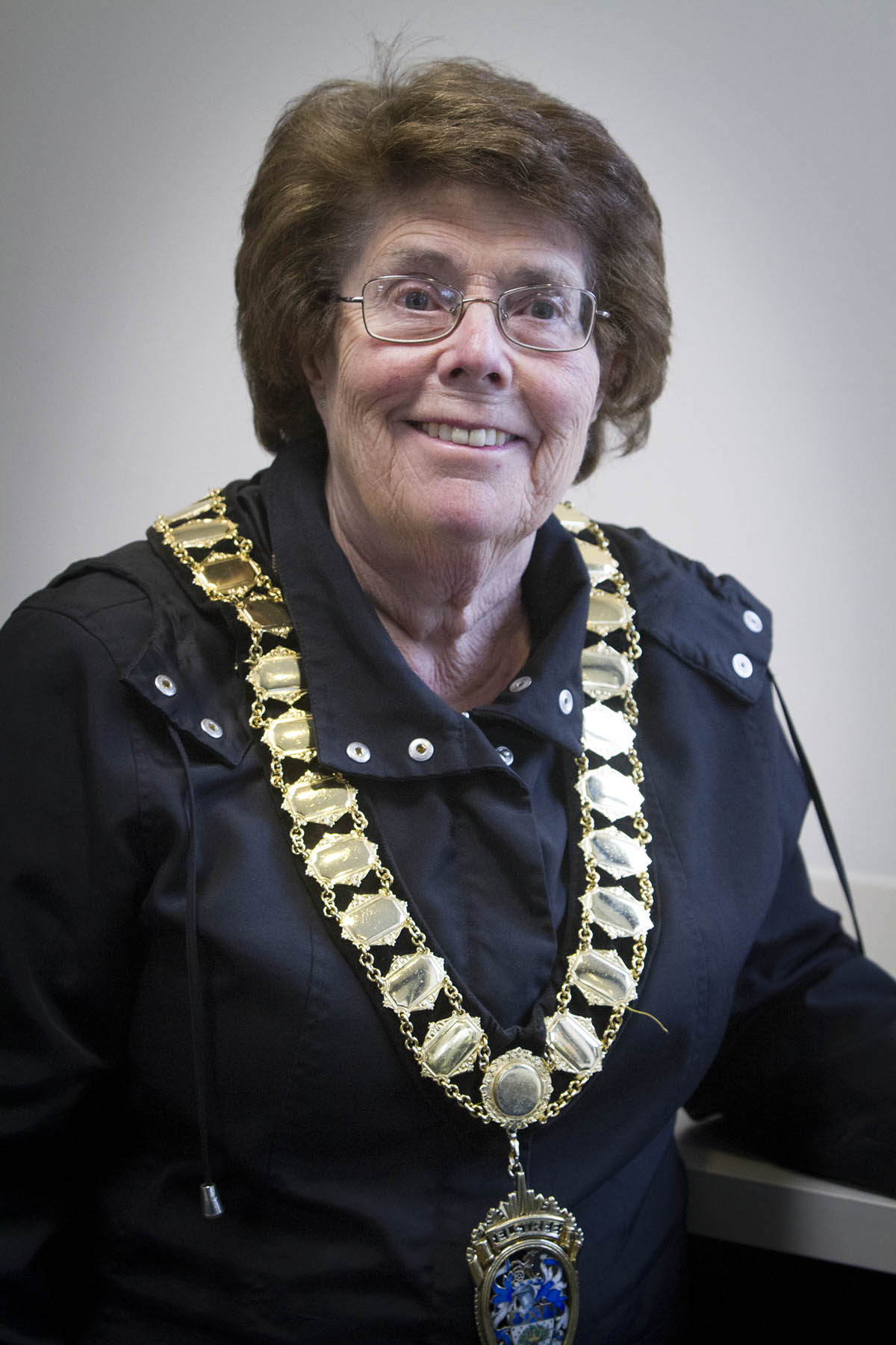 Councillor Pat Strack was elected as the new town mayor in the annual meeting last night