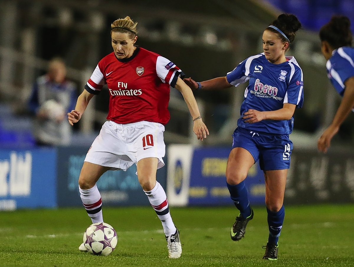 Kelly Smith helped the Gunners through to the final: Action Images