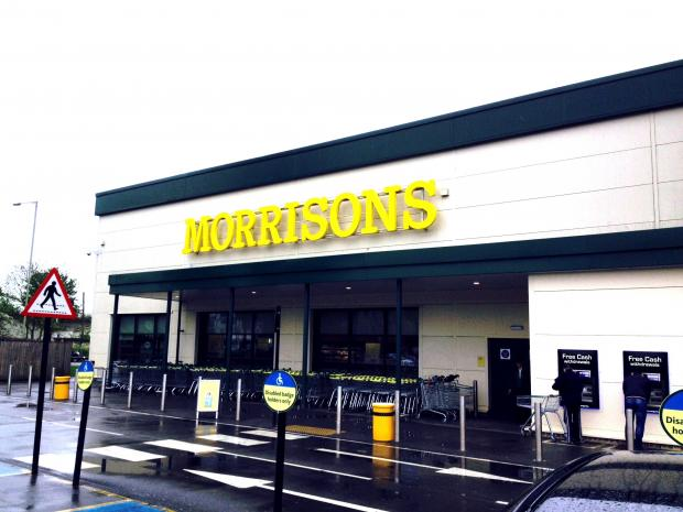 Assault outside Morrisons leaves man in hospital