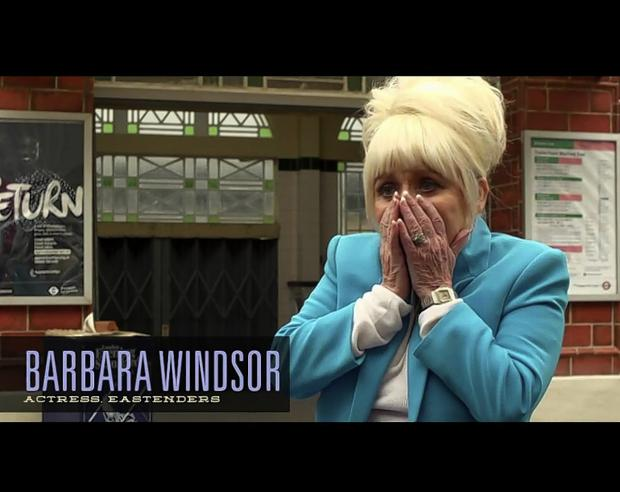 Actor Barbara Windsor co-narrates the documentary From Borehamwood to Hollywood: The Rise and Fall and Rise of Elstree with Elstree film historian Paul Welsh
