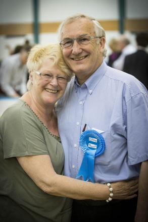 Councillor Clive Butchins has been elected as Conservative councillor for the ward.