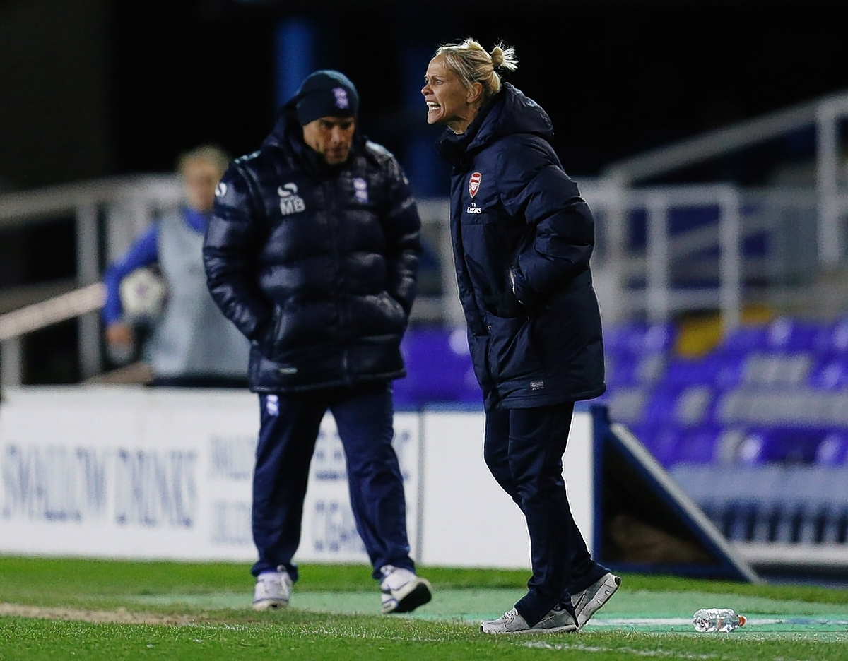 Shelley Kerr will step down after the cup final: Action Images