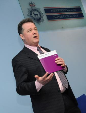 Hertfordshire's Police and Crime Commissioner has reviewed his successes over the past year in his annual report.