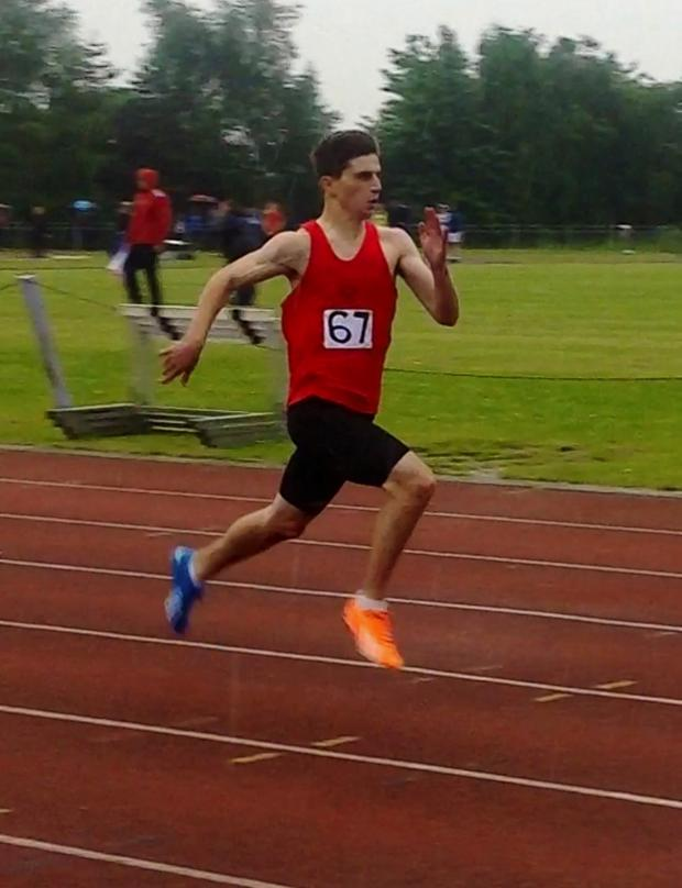 Borehamwood Times: Eden Davis will compete at the English Schools Athletics Championships