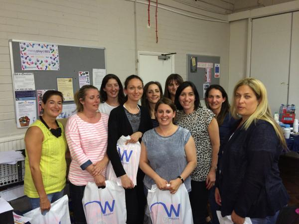 Over 100 women took part in a group quiz to raise money for schools in Israel.