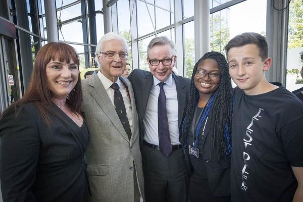 College welcomes special guest Michael Gove