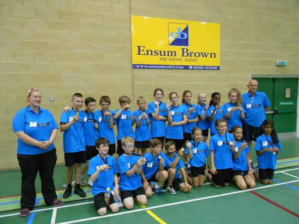 Hertsmere took silver in athletics and bronze in table tennis, also compet