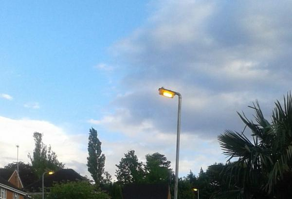 Street lights left on during the day despite council cuts