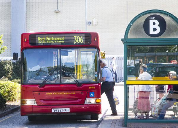 A number of services in Borehamwood may be affected, including the B3, 306 and 658, which are funded in part by the county council, along with the 242 in Potters Bar