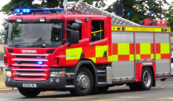 The fire service were called to a block of flats in Theobald Street on Saturday at around 2.59pm following reports of a kitchen fire.