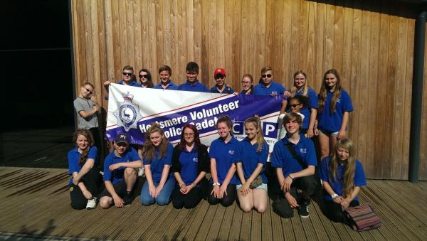 Hertsmere cadets visited a Scout Activity Centre set in 42 acres of woodland  for a week-long summer camp.