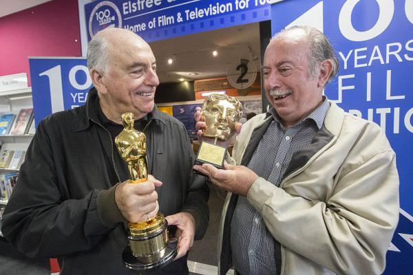Ken Baker and Paul Welsh take a look at the Oscar and BAFTA on loan from sound engineer Richard Pryke