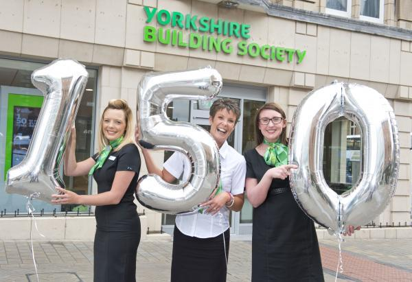 As part of the Yorkshire Building Society's annual Make a Difference campaign, the company are donating £1,000 for every year they have been in business.