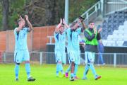 Boreham Wood warmed up for their FA Cup tie by beating Hayes & Yeading United: Sean Hinks