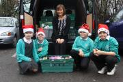 Parkside pupils each brought a donation of tinned food, packets or toiletries to support those in need this Christmas.