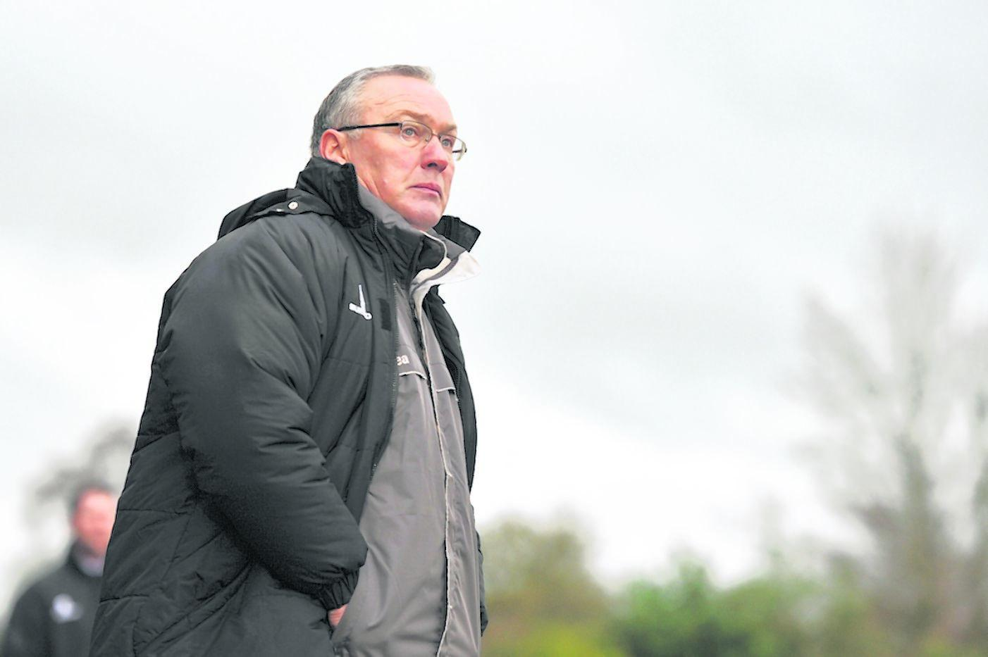 Boreham Wood boss Ian Allinson: Sean Hinks