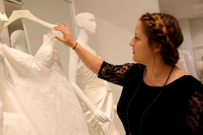 Our features writer shares her search for a wedding dress