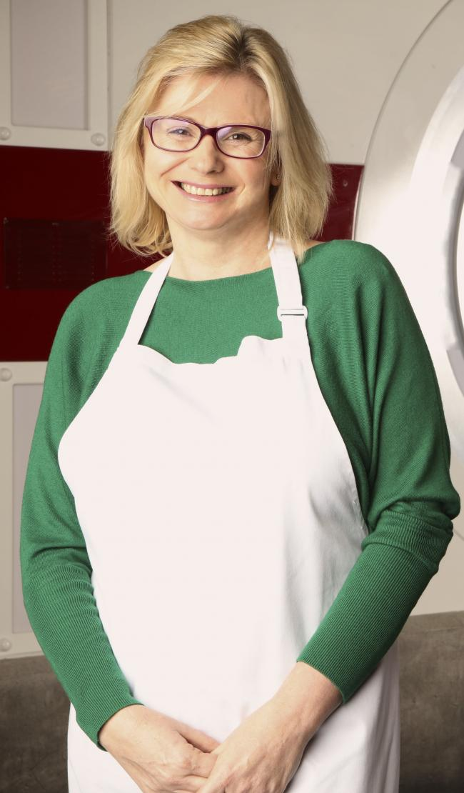 Masterchef Winner Jane Devonshire Is Cooking Live At Alexandra Palace'S Foodies Festival