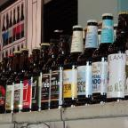 Borehamwood Times: Bottled beers at St Albans Beer Festival 2015 at Alban Arena