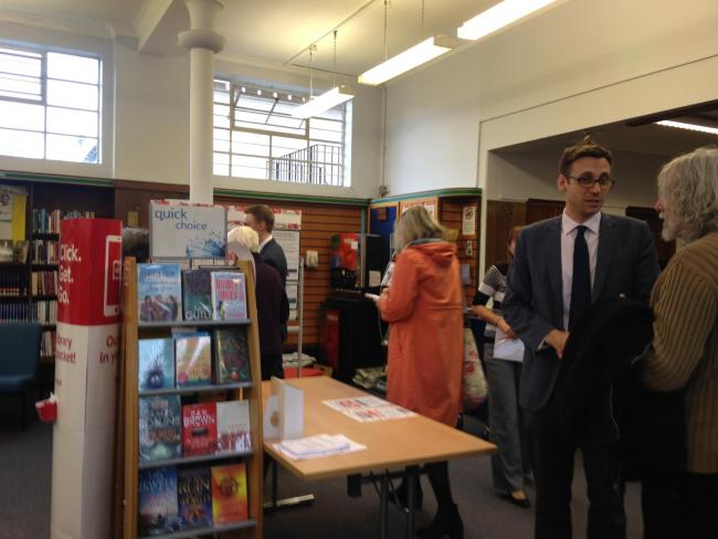 North Finchley Library is one of 14 affected by changes to staffing hours