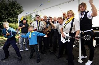 Borehamwood Times: New scout hall rocks