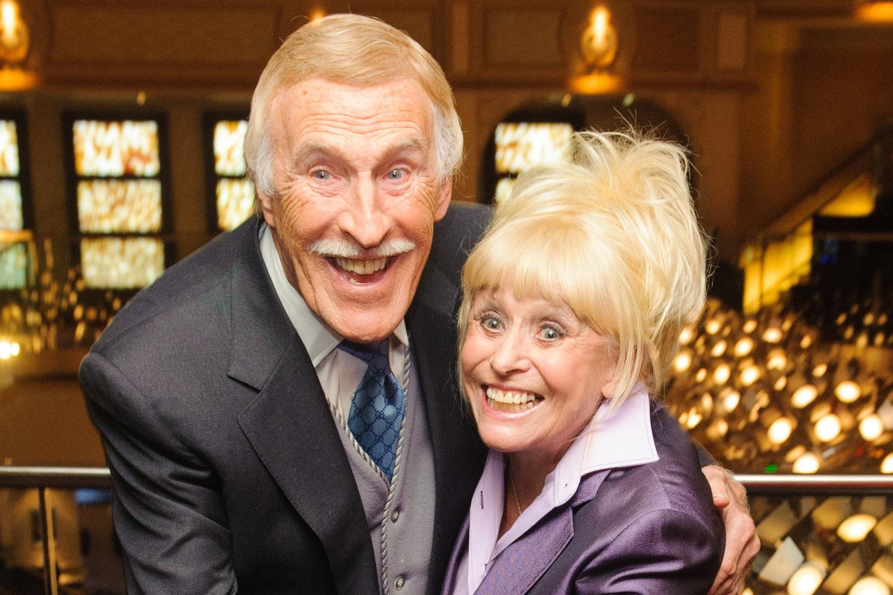 Sir Bruce Forsyth 'last of the truly great entertainers' – Dame Barbara Windsor (Dominic Lipinski/PA)