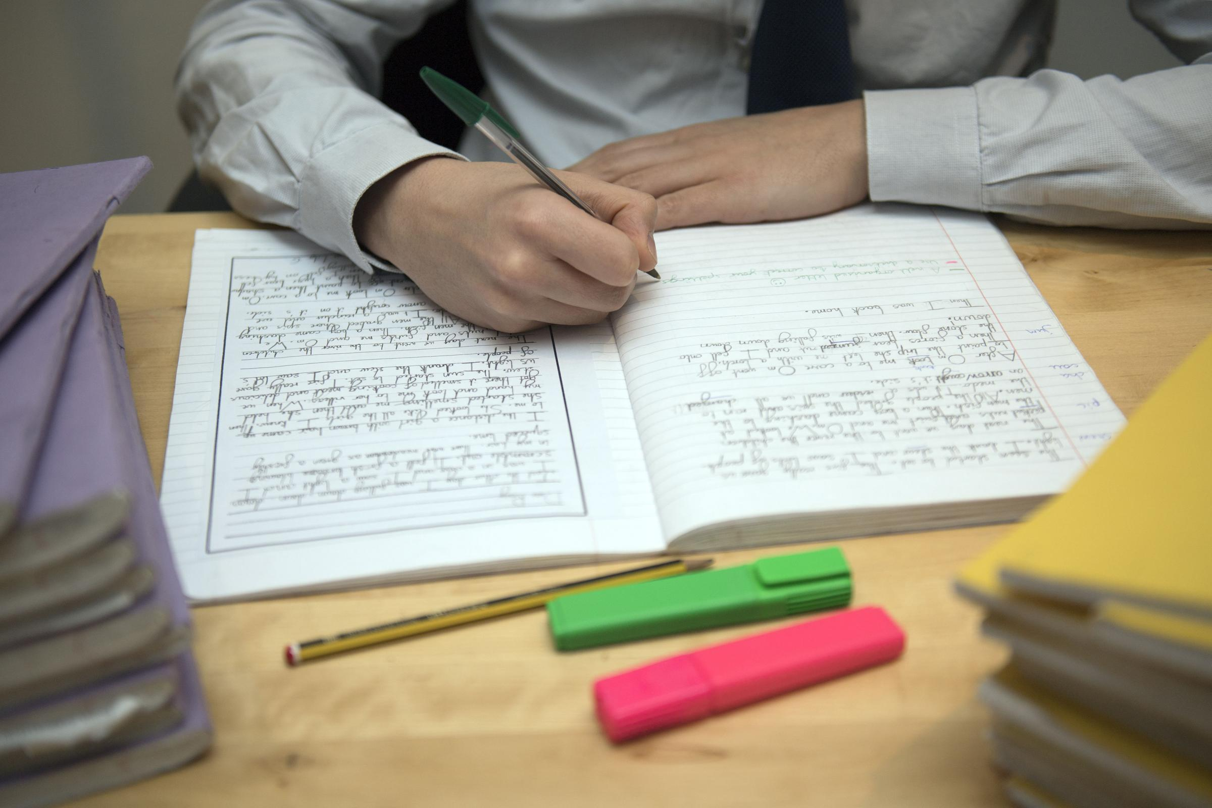 Children should sit more exams to help them cope with exam stress, minister argues