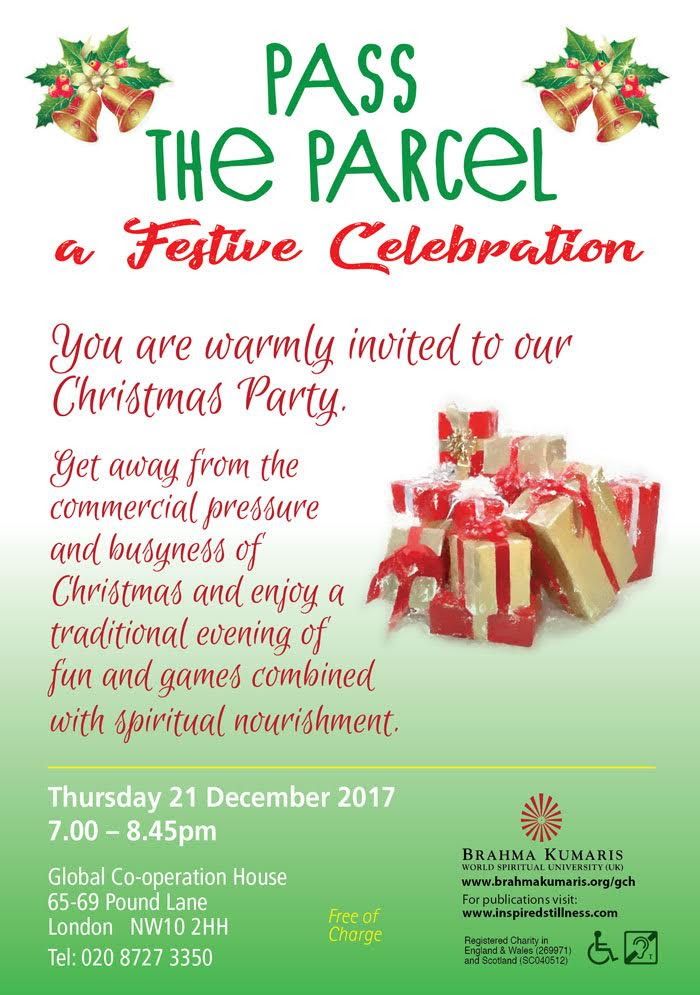Pass the Parcel - a festive celebration