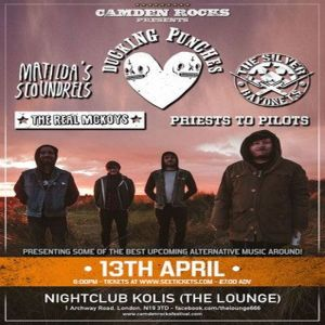 Camden Rocks presents Ducking Punches and more at The Lounge