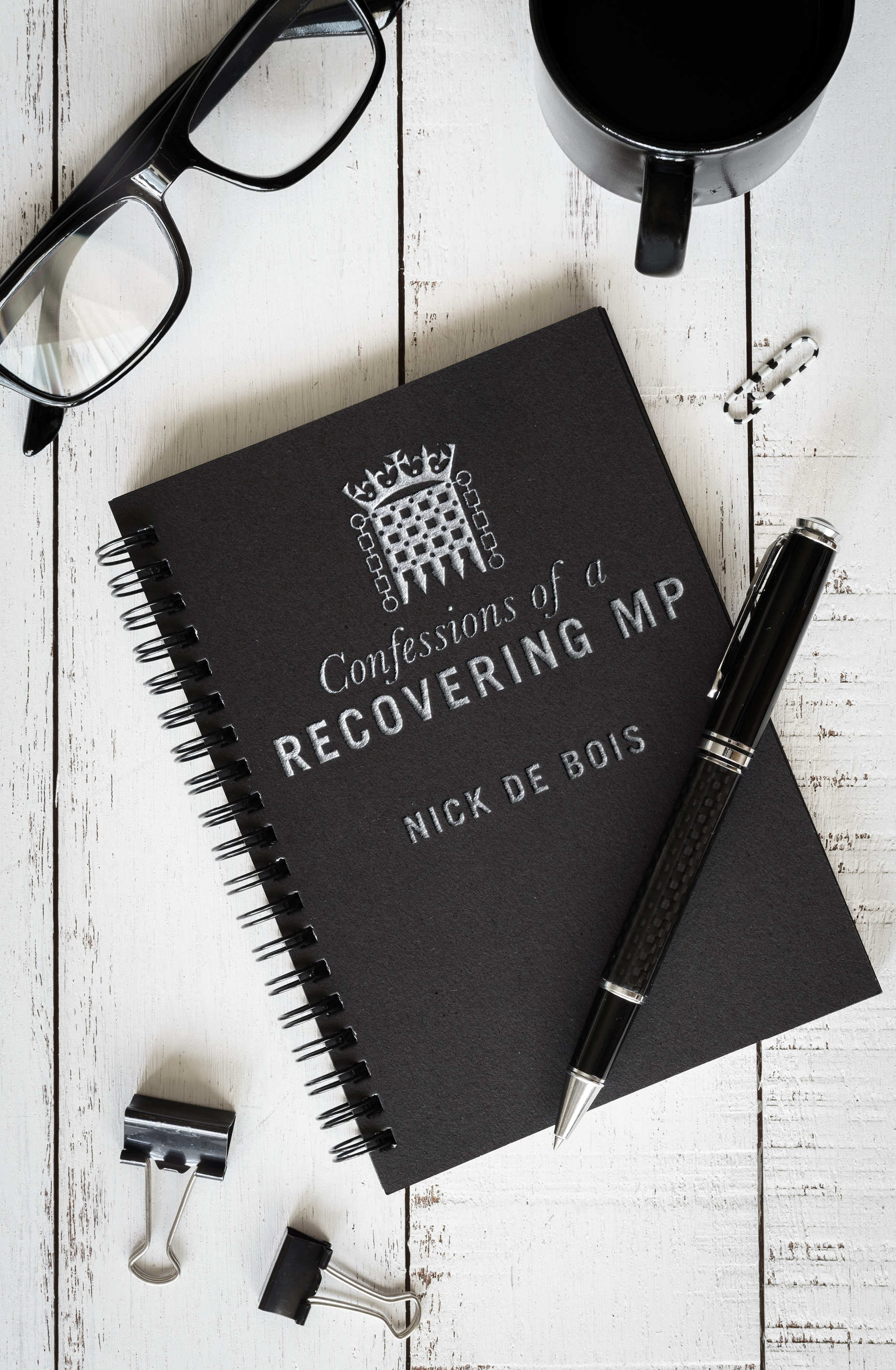 BOOK SIGNING: NICK DE BOIS, author of 'Confessions of a Recovering MP' at Waterstones Enfield