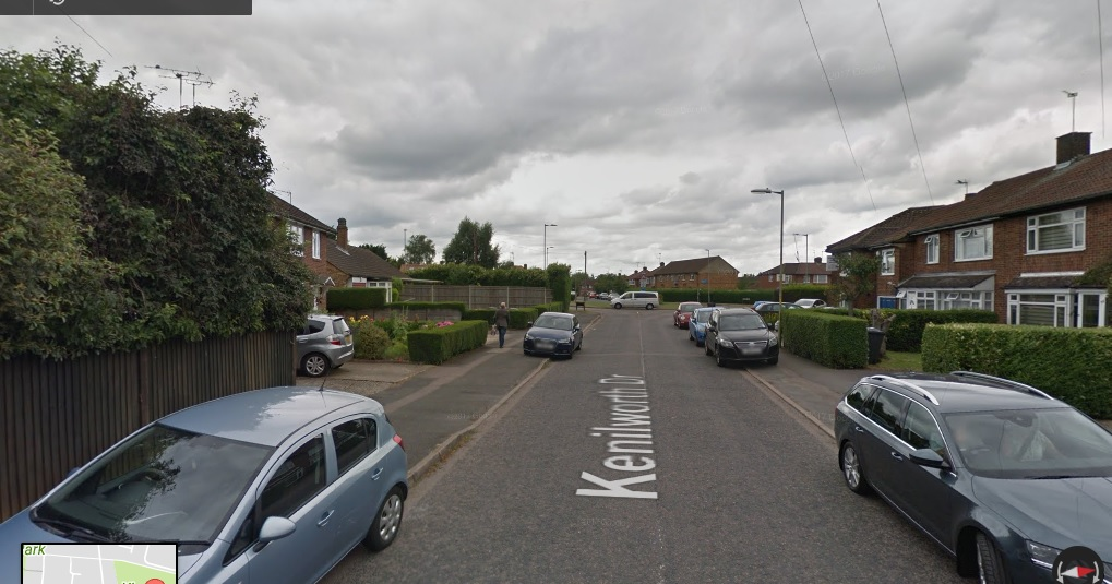 The man has been heard all over Borehamwood, including Kenilworth Drive