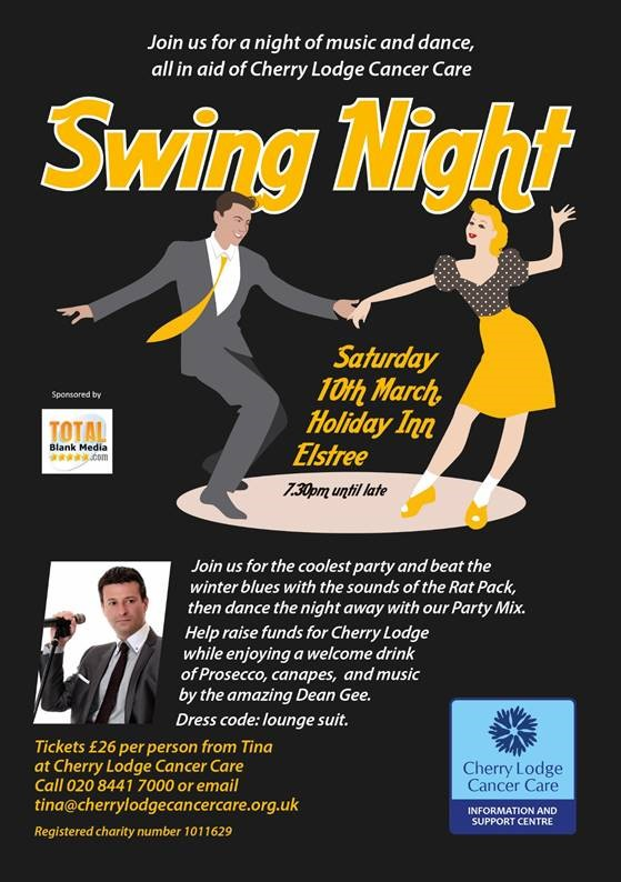 Swing Rat Pack Night