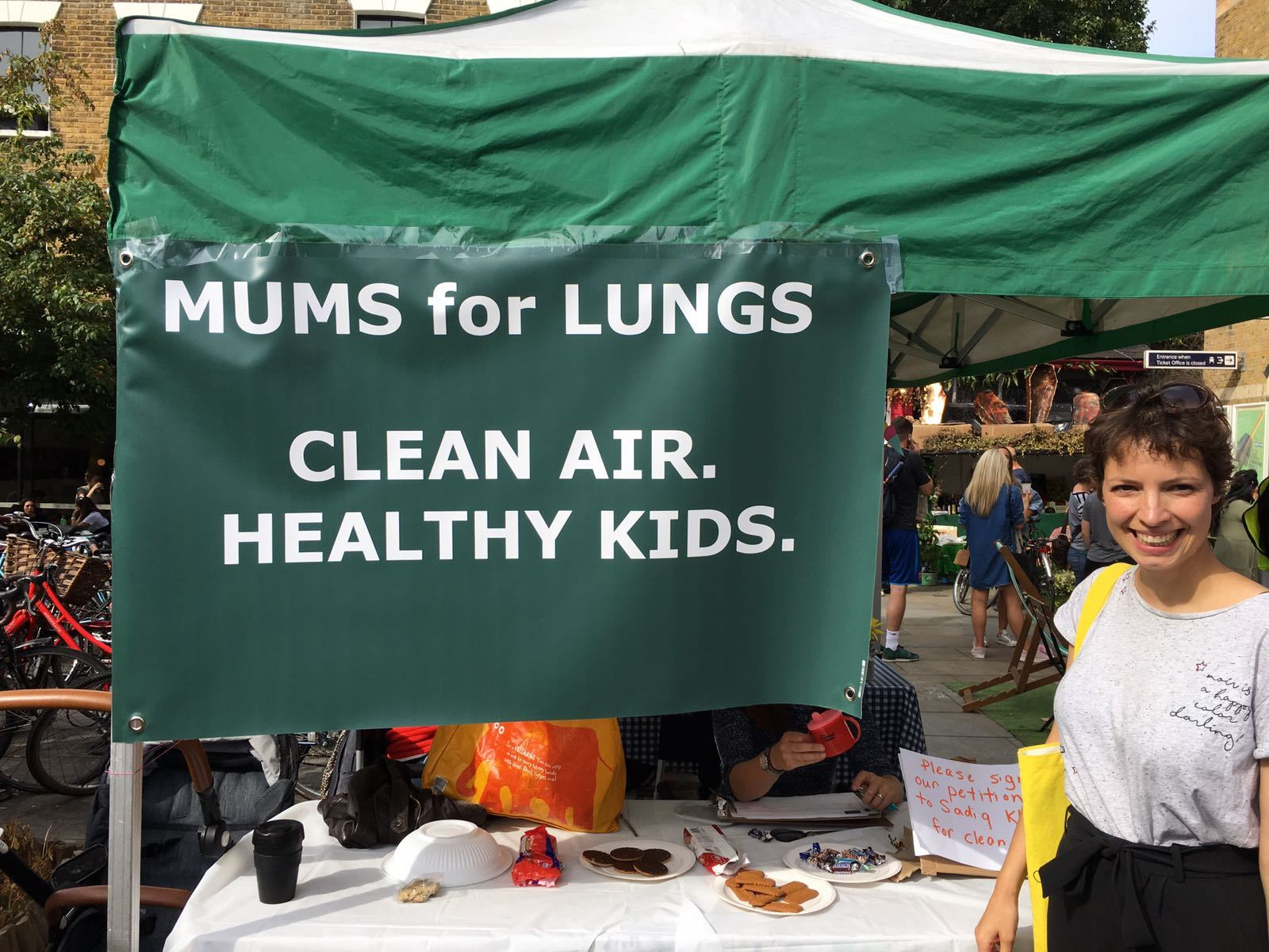 Jemima Hartshorn founder of Mums For Lungs