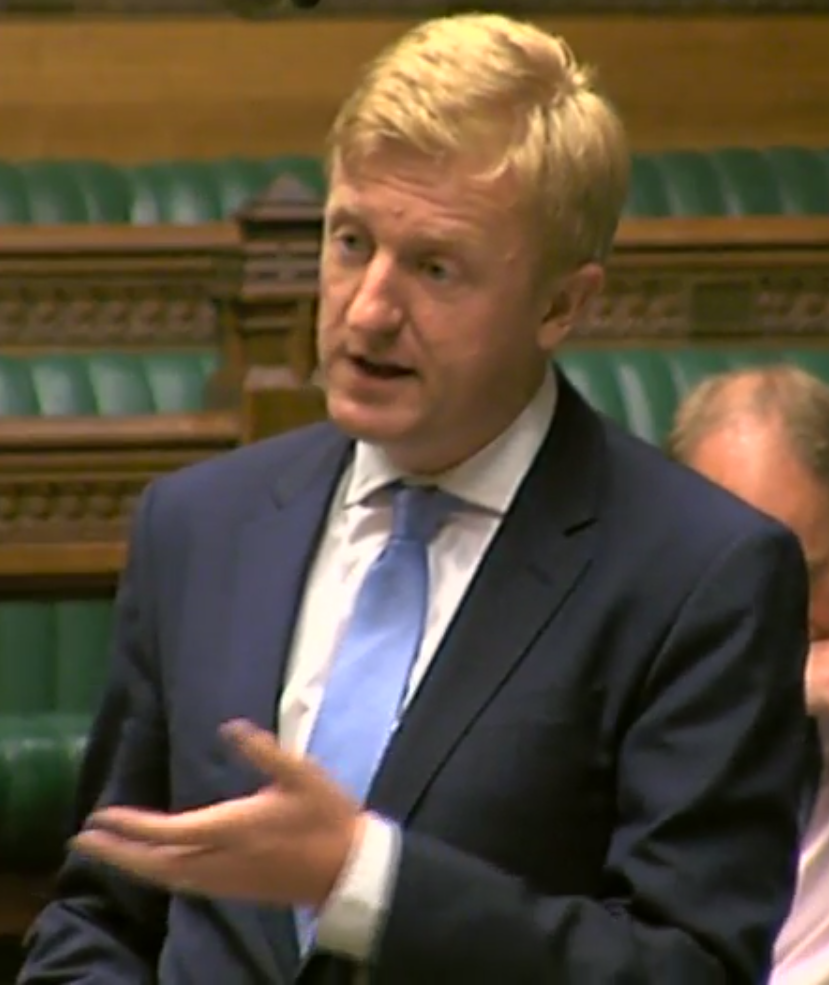 Oliver Dowden MP has backed the decision to carry out air strikes in Syria