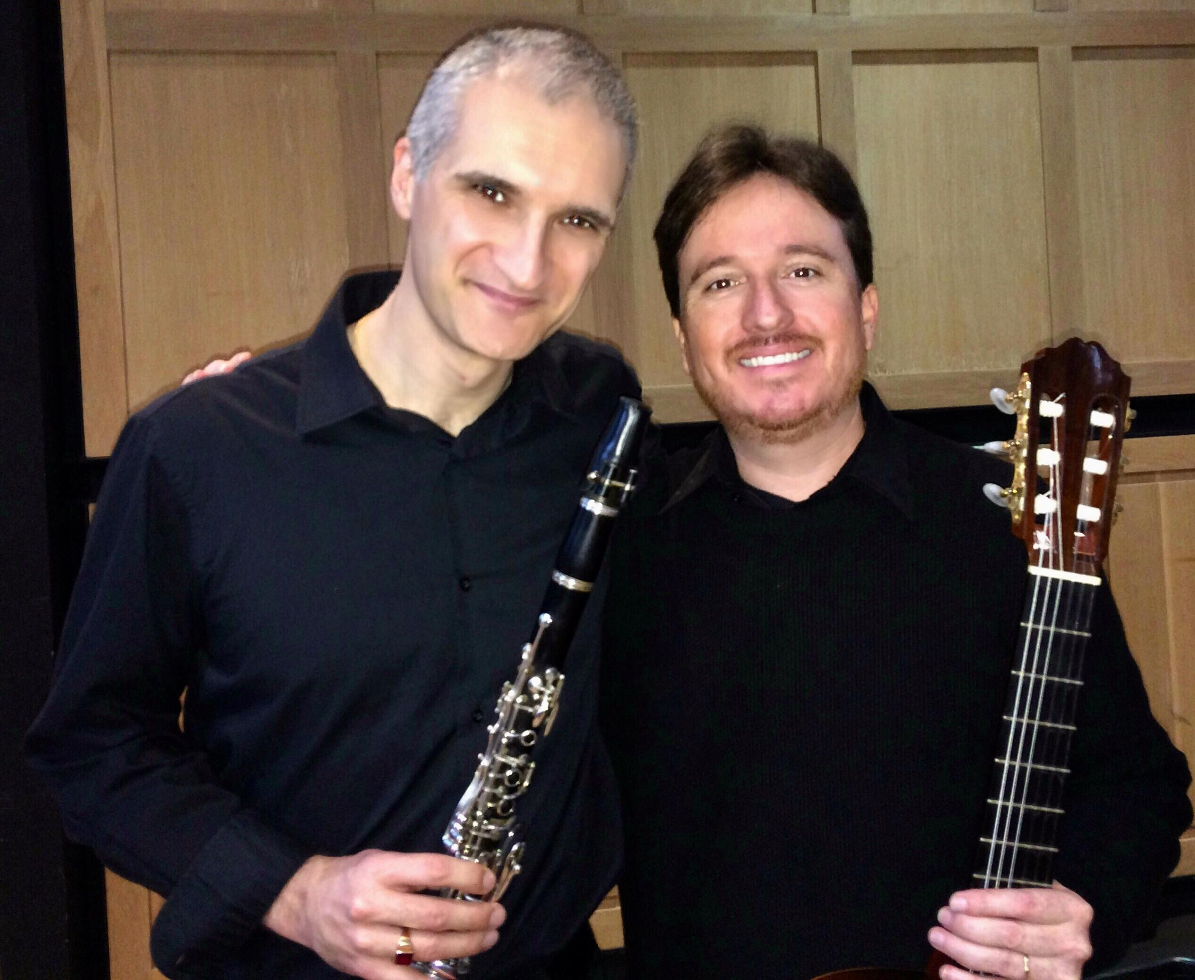 Duo Campos-Luciano: Guitar and Clarinet concert