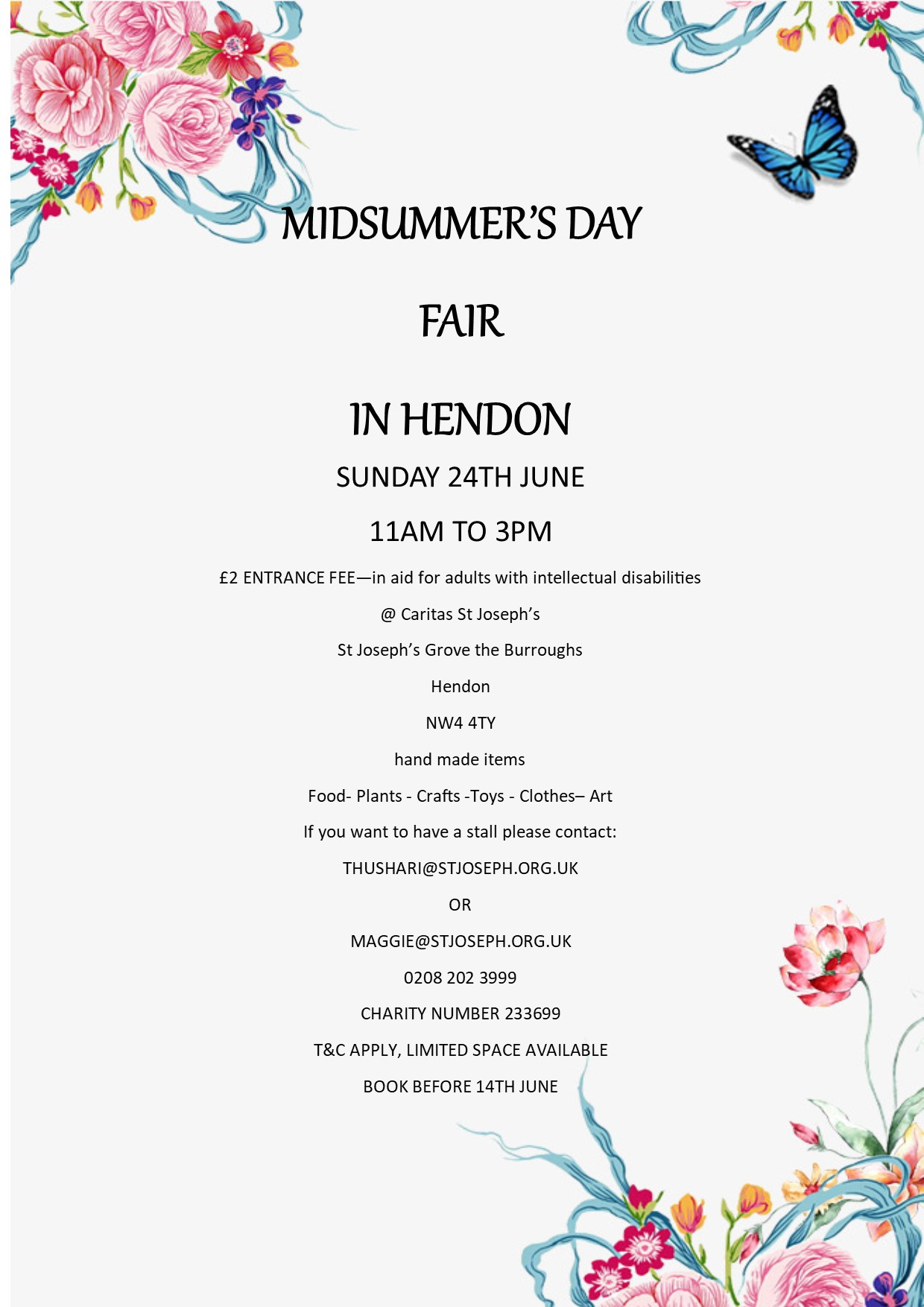 Midsummer's  Day Fair in Hendon