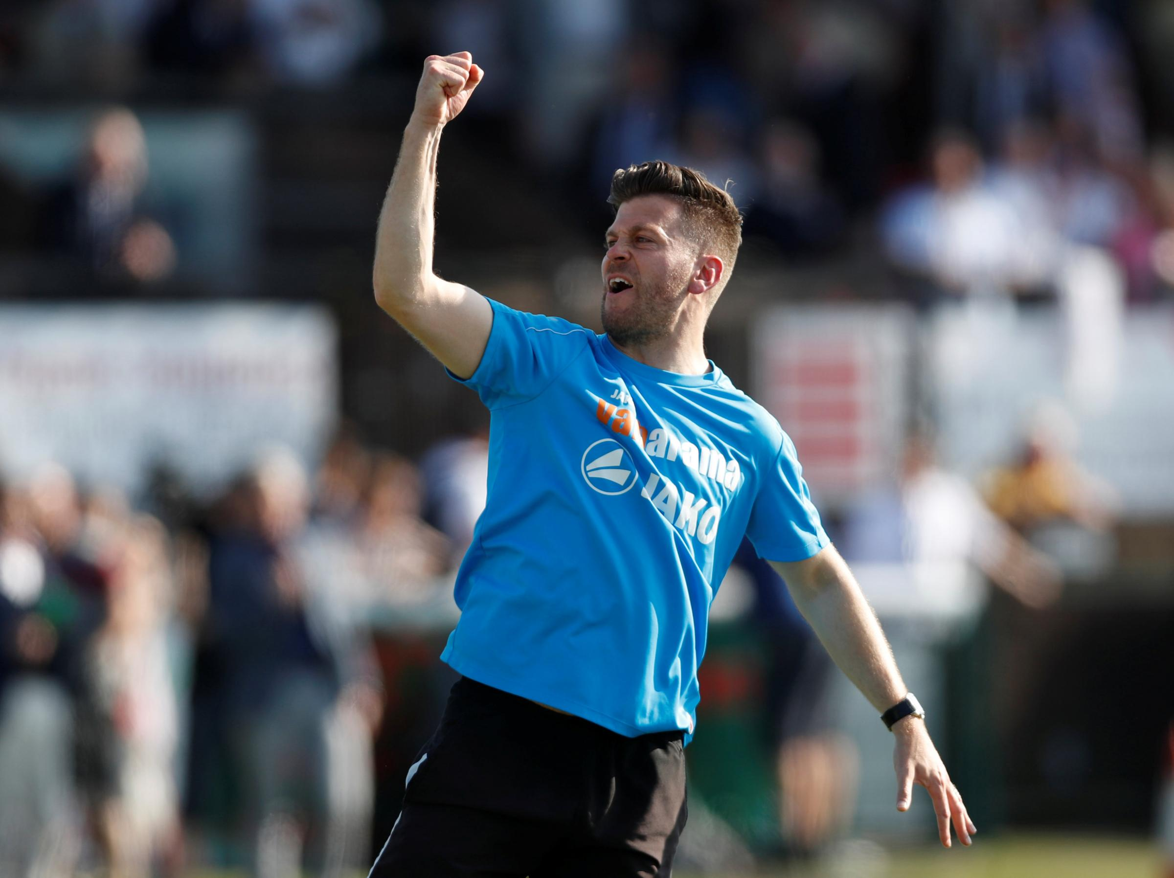Luke Garrard has extended his Boreham Wood contract until 2021. Picture: Action Images