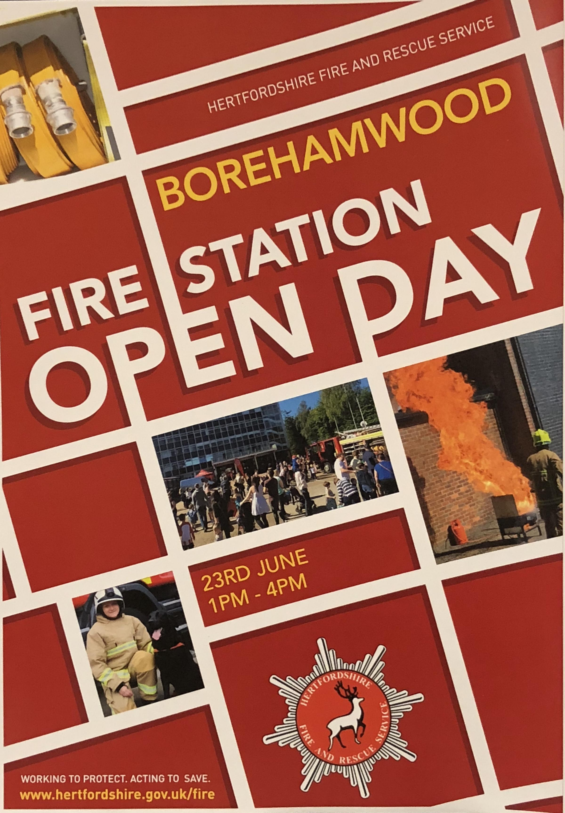 Borehamwood Fire Station Open Day