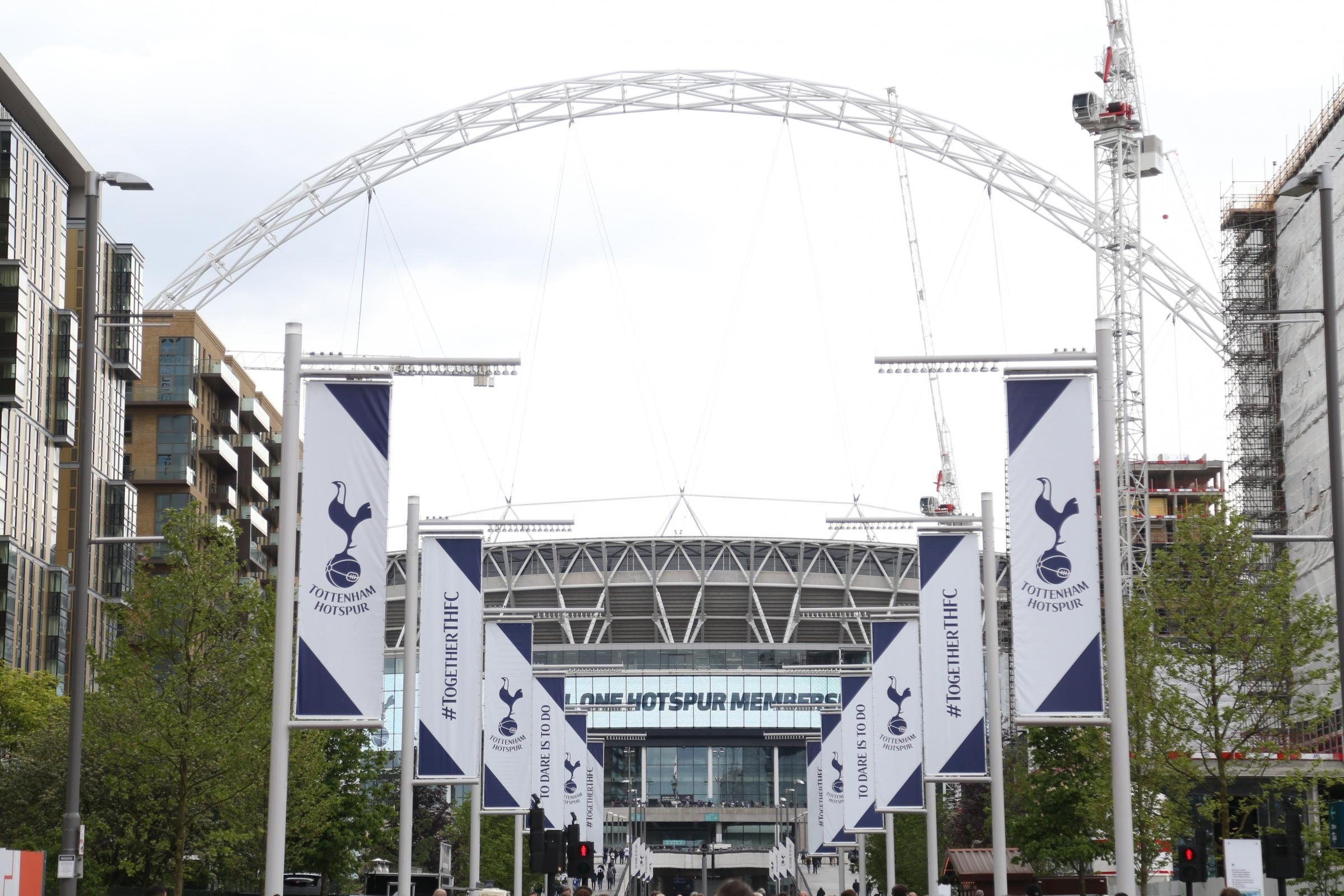 Tottenham will be back at Wembley for one game against Fulham on August 18