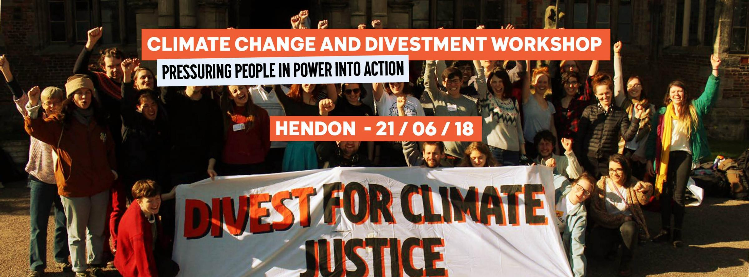 Climate Change & Divest Parliament Workshop
